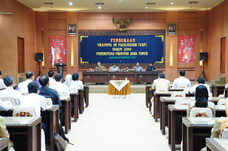 "Badan Diklat Provinsi Jawa Timur "" Siap Terapkan Diklat Kepemimpinan Pola Baru """