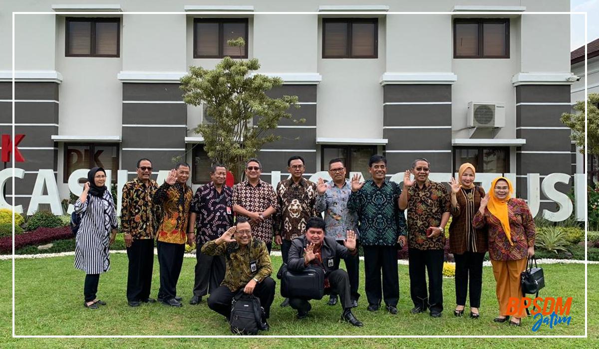 Visitasi Widyaiswara BPSDM Provinsi Jawa Timur Ke Pusat Pendidikan Pancasila dan Konstitusi di Bogor