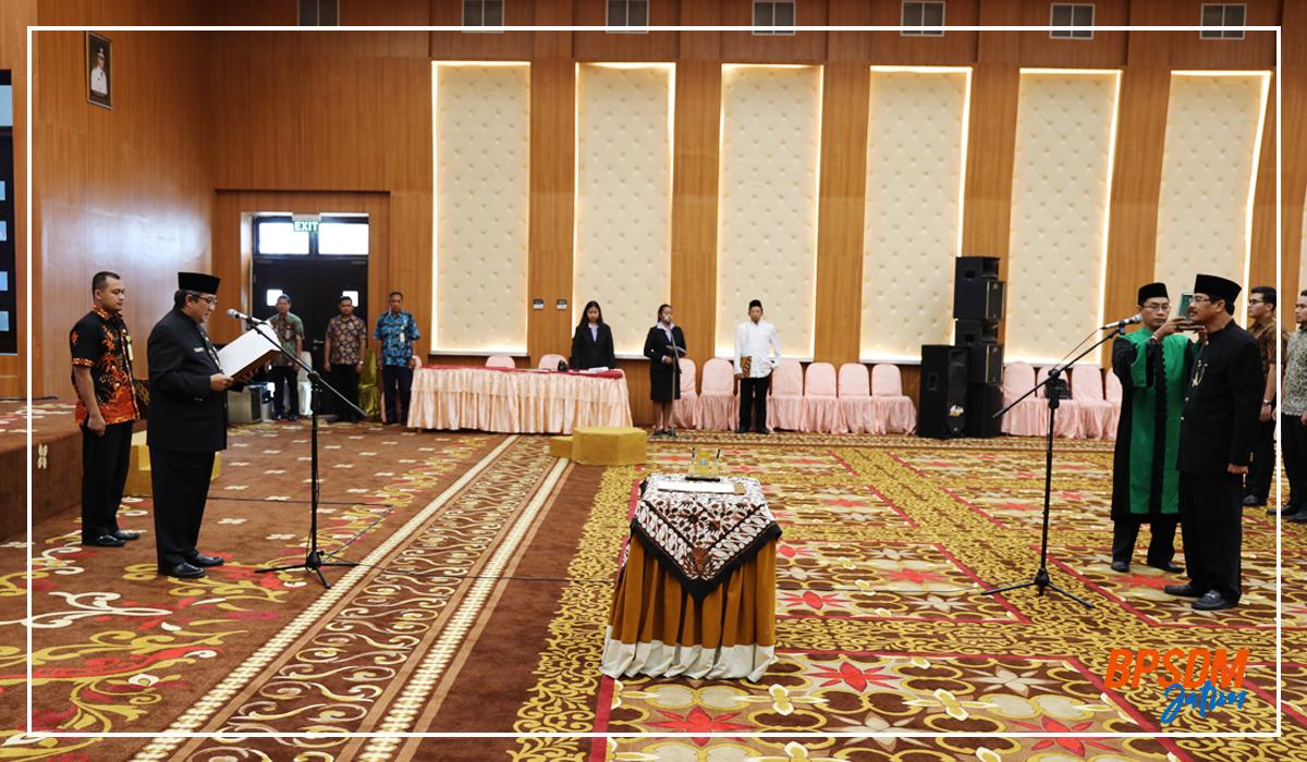 Pelantikan Pejabat Fungsional Widyaiswara Ahli Utama