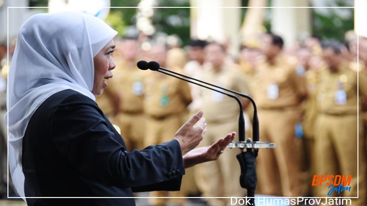 Gubernur Ajak Opd Bangun Sinergitas Wujudkan Jatim Cettar