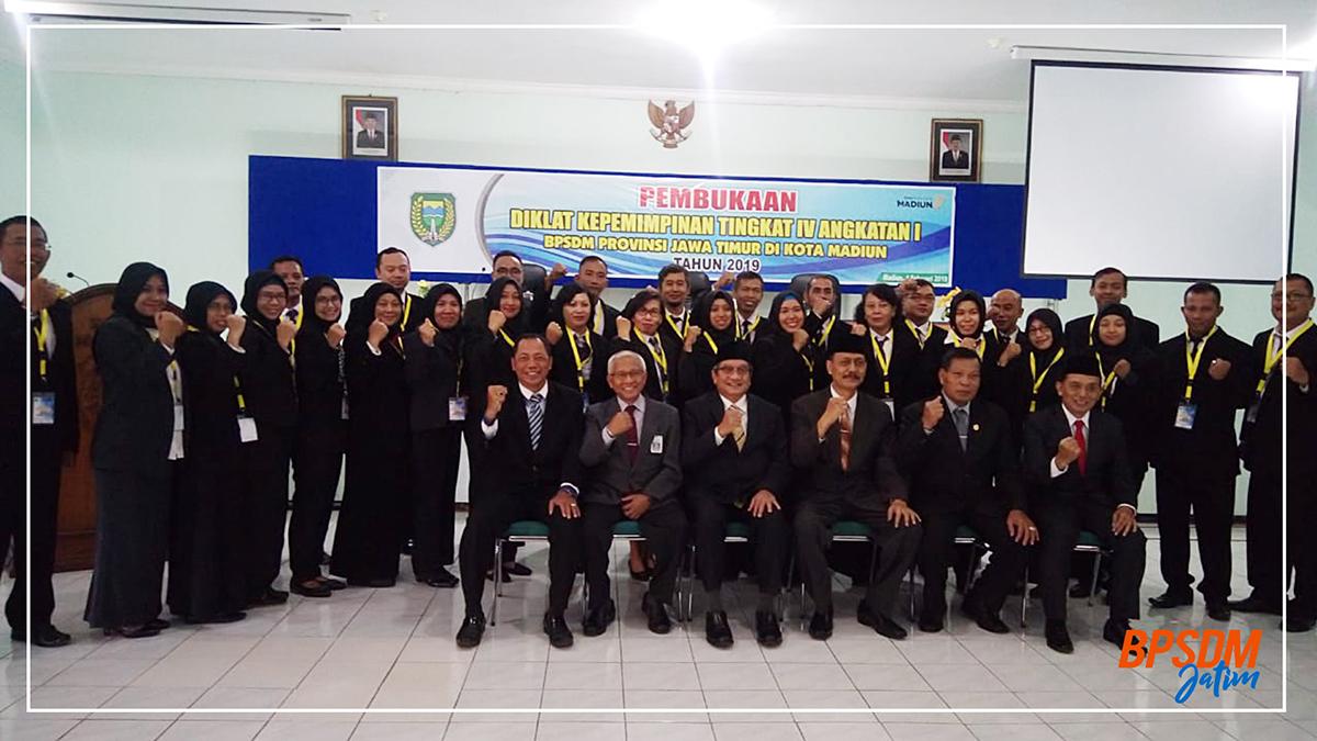 Pembukaan Diklat Kepemimpinan Tingkat Iv Angkatan I Pemerintah Kabupaten Madiun Tahun 2019
